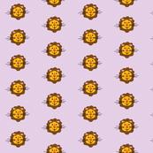 Retro Lion (lavender)small