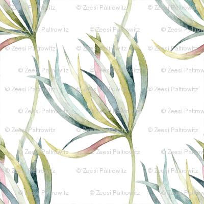 field_of_flowers_leaves_patern