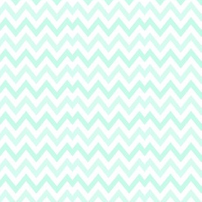 Mint Broken Chevron