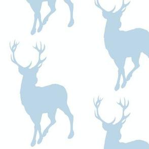 Buck- baby blue/white- Cottonwood Woodland Nursery