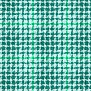 serene green tartan check