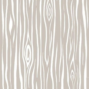 Woodgrain- small- beige/white - tan  tree  bark