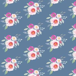 pale blue floral