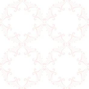 Sweet Friends Scroll - Pink & White