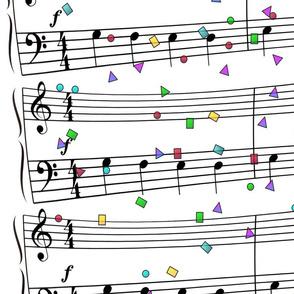 Musical Confetti