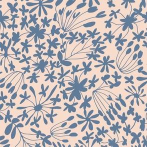 Flower Whisper Blush & Blue