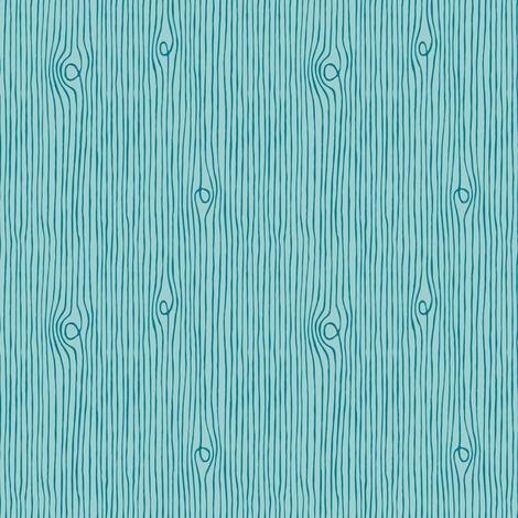 Winter coordinate wood grain blue fabric by heleen_vd_thillart on Spoonflower - custom fabric