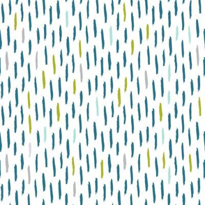 modern dino coordinate - dash in aruba blue