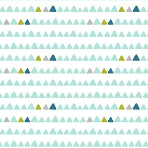modern dino - triangle coordinates