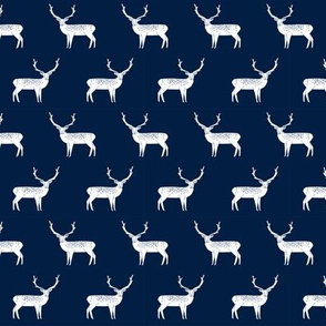 reindeer // navy christmas reindeer christmas xmas holiday fabric cute xmas holidays