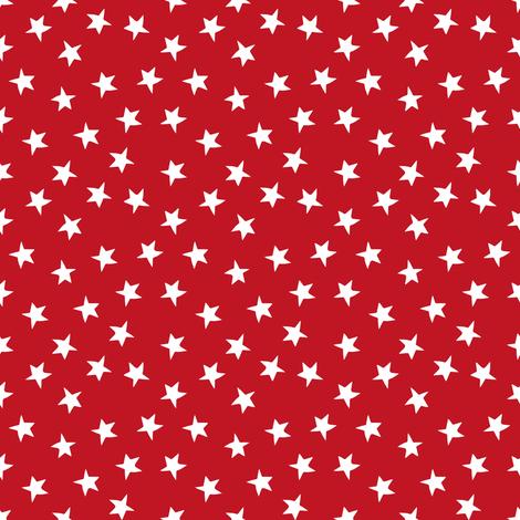stars // christmas star cute christmas fabric  fabric by andrea_lauren on Spoonflower - custom fabric