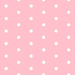 mini dots // christmas pink dots pink christmas fabric cute pink design best holiday christmas fabric