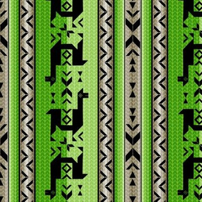 Llamas: Green & WarmGray
