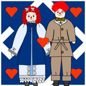 Victorian Raggedies Fabric