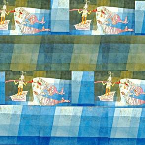 Klee Parody Sinbad - Scarf