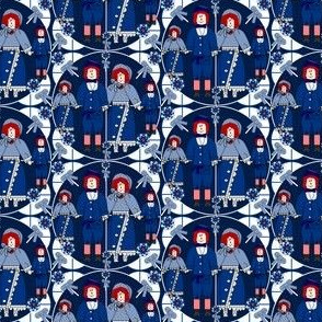 Victorian Raggedies Fabric #2