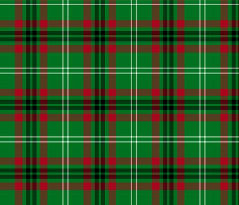 Arkansas official tartan fabric by weavingmajor on Spoonflower - custom fabric