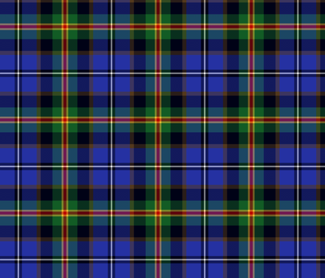 Iowa official state tartan fabric by weavingmajor on Spoonflower - custom fabric