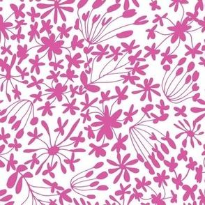 Flower Whisper Pink & White