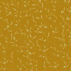 Ditsy Meadow in Mustard