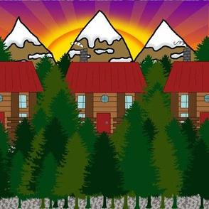 Chalet Cabin Pattern