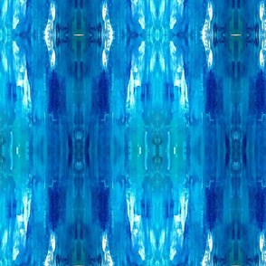 Blue Vertical Abstract