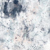 Marble Marvel | Deep Blue Blush