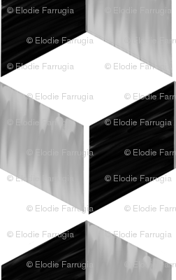 Monochrome cube