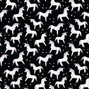 unicorn_origami_black_lilac