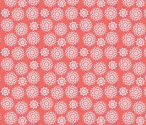 Teardrop Flowers Teardrop Flowers In Crimson  Repeating Pattern For Wallpaper Or .