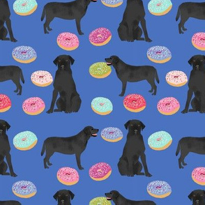 black labrador donuts fabric labrador retrievers cute labs lab dog fabric