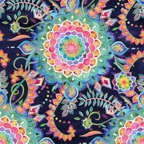 Color Celebration Mandala - small print