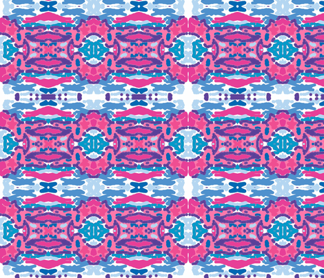 Island Gate-ocean fabric by drapestudio on Spoonflower - custom fabric