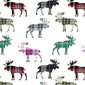 Plaid Moose IV // Sylvan Shoppe Collection