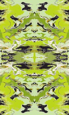 GOTHIC TOILE GREEN
