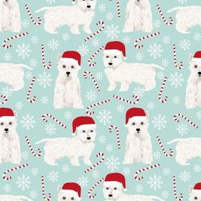 westie christmas fabric cute west highland terrier christmas fabrics peppermint sticks candy canes cute christmas fabric