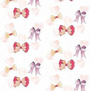 Hairbows and hearts