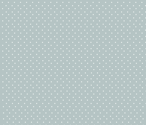 grey and white polka fabric by giaowilliams on Spoonflower - custom fabric
