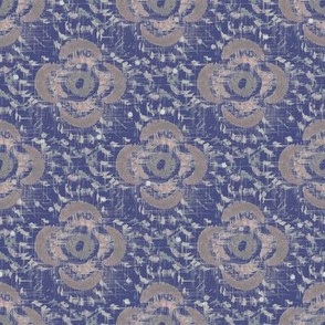 English Parlor Print (Blue)