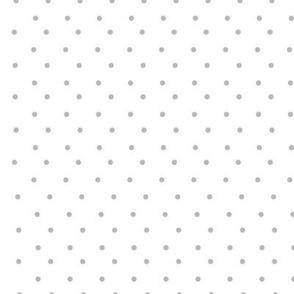 gray polka