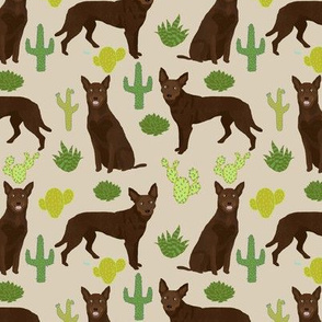 australian kelpie fabric cute cactus fabrics cactus dogs fabric cute dog fabric