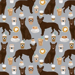 australian kelpie fabric cute coffees fabric cute coffee dog fabric australian kelpies dog fabric