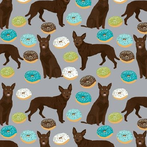australian kelpie dogs fabric cute kelpie donuts designs cute kelpies dogs fabric cute australian kelpies and donuts fabric
