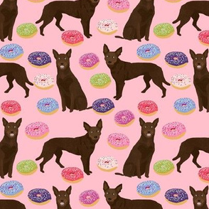 australian kelpie fabrics cute dogs fabric cute donuts fabric cute donut design dog fabrics cute dog design