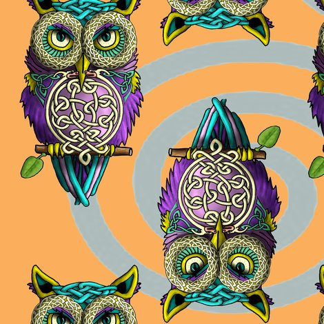 Rrrceltic_owls_orange_shop_preview