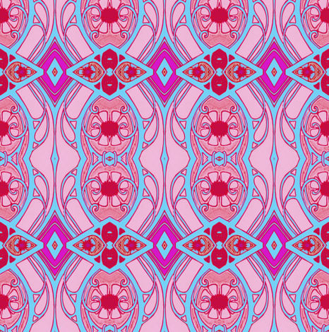 Wiil I See You At The Love In fabric by edsel2084 on Spoonflower - custom fabric