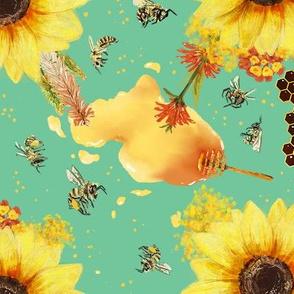Flowers bees like