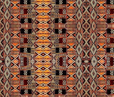 Tribal Design fabric by floramoon on Spoonflower - custom fabric