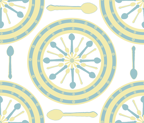 How Do I Love Thee, Spoonflower? fabric by anniedeb on Spoonflower - custom fabric