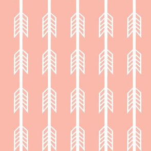 blush arrow stripes stripe fabric blush coordinate fabric nursery baby girls peach blush